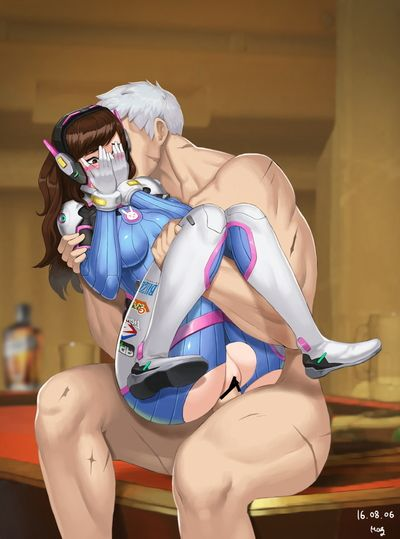 [ABBB] Overwatch (translated (uncensored) + original)