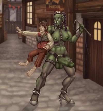 Orc t-girl anime