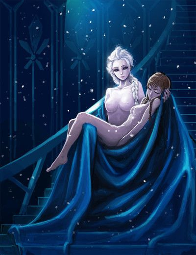 Frozen elsa anna nude porn