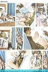 Porn comics with unmerciful dick sucking and assfuck scenes