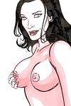 Sexy babe feels want in porn comics