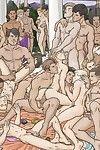 Elderly homosexual comics
