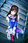 [夜喵喵喵喵 (Night Meow Meow)] D.va (Overwatch)