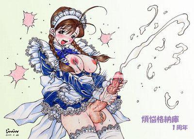 Cumming futanari