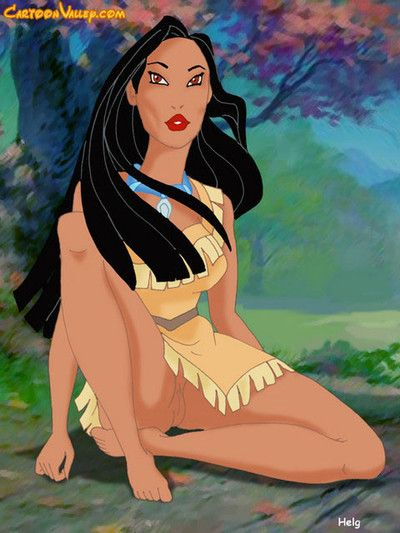 Pocahontas is so turned on this babe establishes to jerk off and dreaming with lesbian or