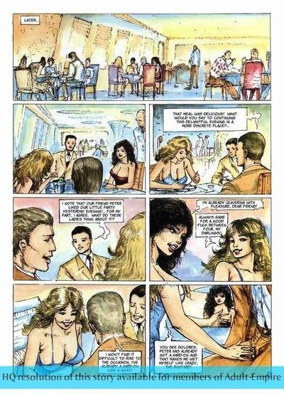 Moist established comics with appealing babe sucking dick