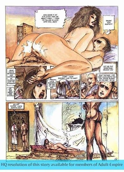Sexy hooker with fuckable waste in banging comics