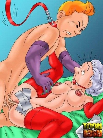 Moist bdsm cartoon characteres everywhere