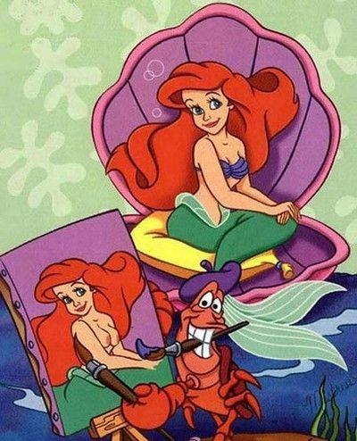 Ariel porn toons