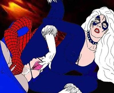 Spiderman porn animations