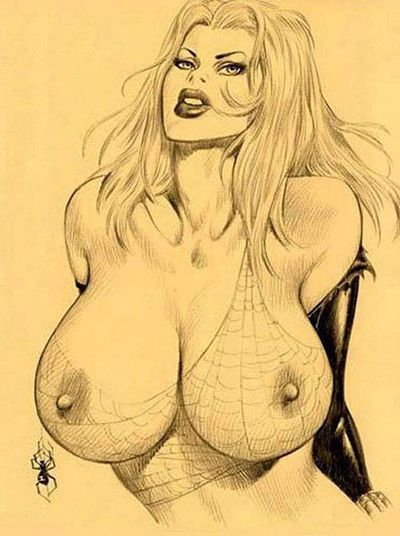 Spiderman porn drawings
