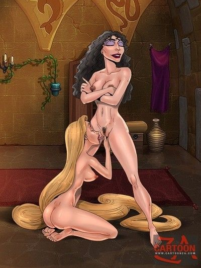 Rapunzel and tarzan in fuck and play porn
