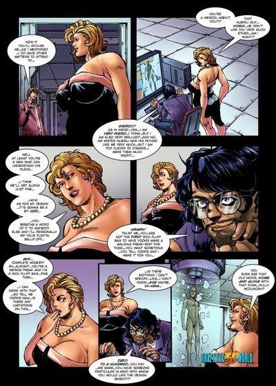 Adult strapon activity comics