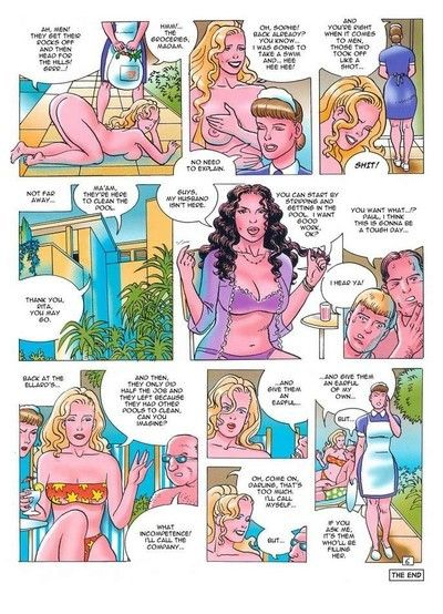 Porn comics with hardhearted oral stimulation and assfuck scenes