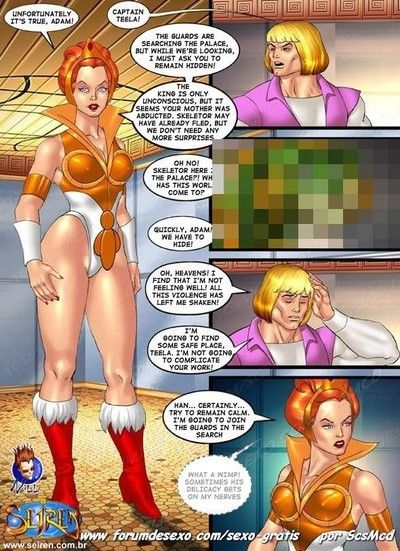 Porn comics with unmerciful oral and assfuck scenes