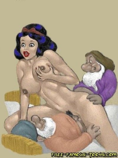 Snowwhite and dwarfs hard sex  lusty youthful chicito snowwhite and her
