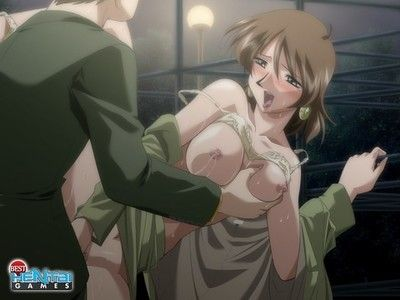 Hentai gals in grandpa games love to be squeezed