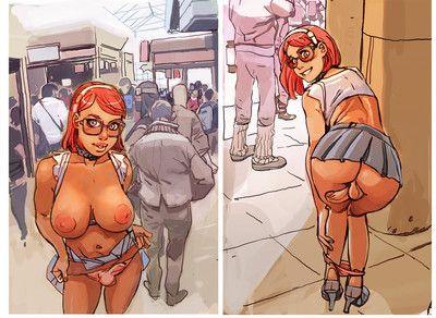 Futanari comics porn