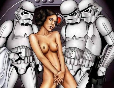 Star wars porn cartoons