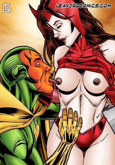 Superhero sex comics