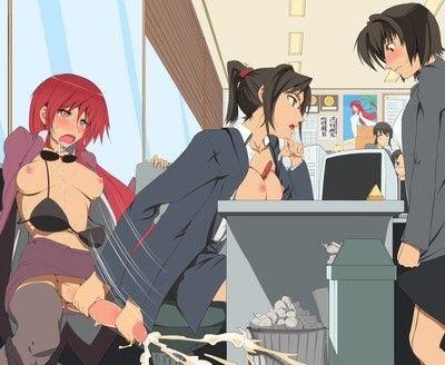Anime cosplay lucky star2