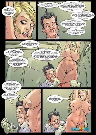 A rounded blond and a hung chap in these xxx comics