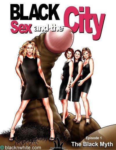 BlacknWhite- Ebony Sex and the Town