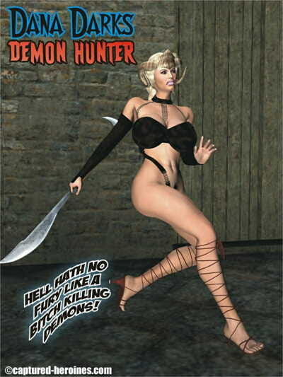 Clutched Heroines- Dana Darks – Demon Villain