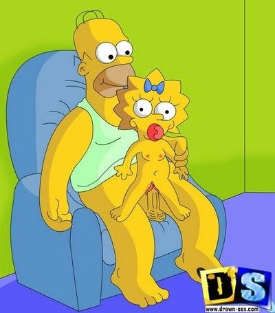 Simpsons action real family diddling