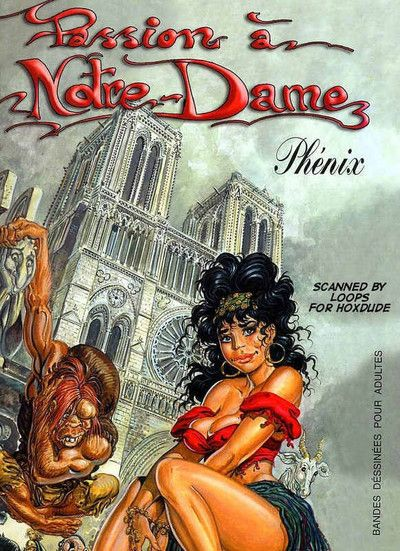 Obsession a notre-dame. the ebony side of a man-s nature is finally exposed