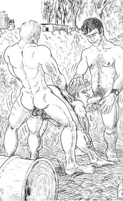 Nude comics with beautiful lesbian dears