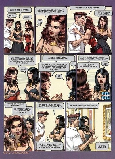 Sticky older comics with sexy gal sucking dick