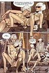 Porn comics gallery of moist scenes