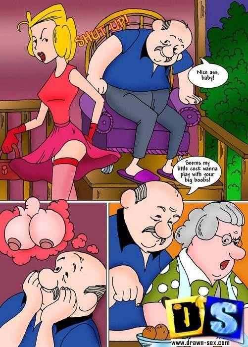 sex menace drawn Dennis the
