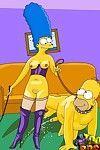 Simpsons enhance their sex life with bdsm