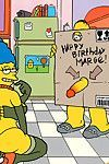 Its marges birthday and homer has a fucking singular grant for her he makes his fucking