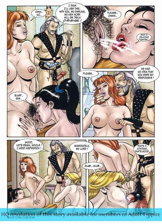 adult comics Hot