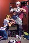 Dickgirls workout erections