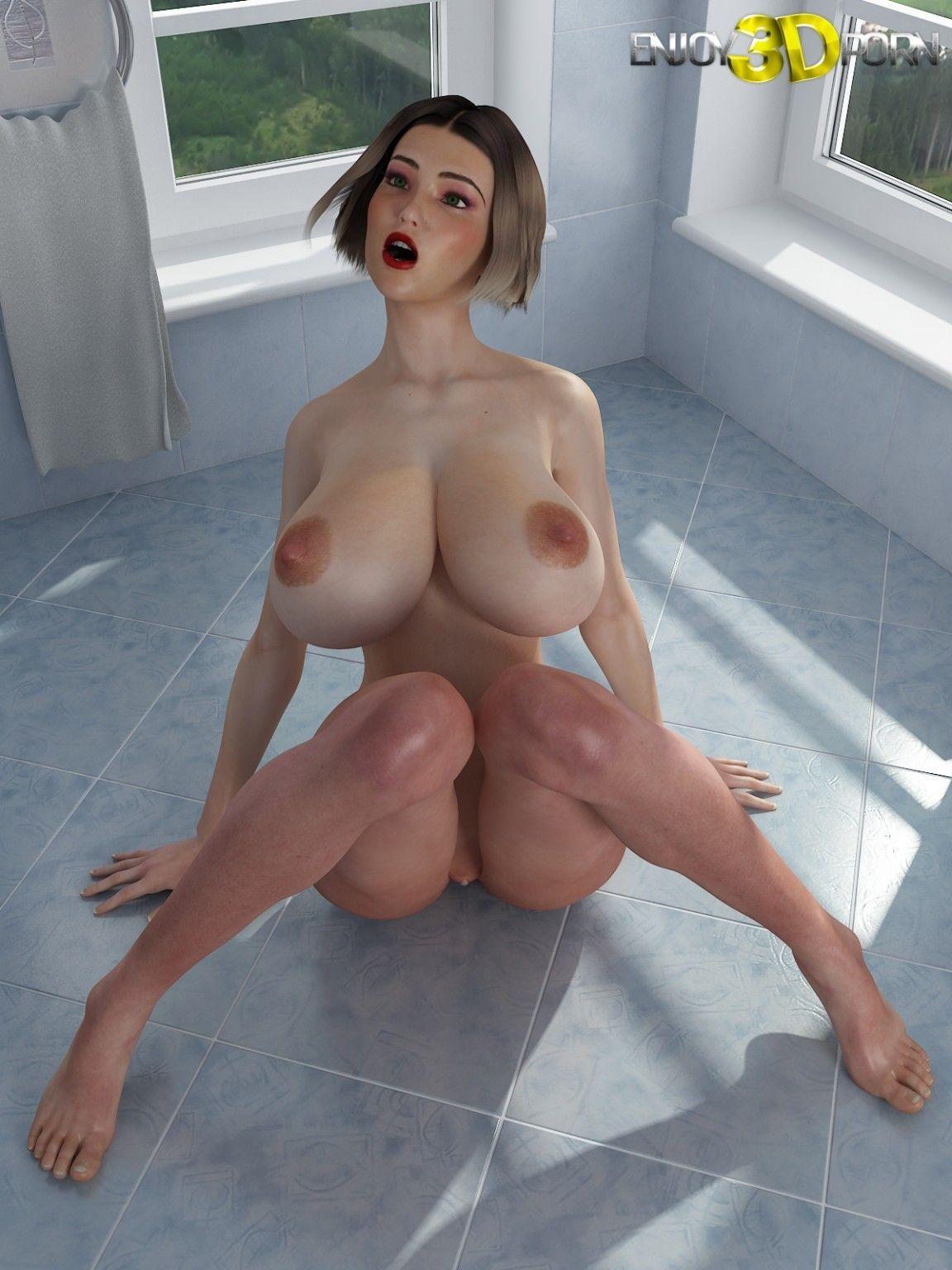 Gigantic perfect tits