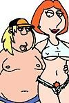 Family guy griffins cartoon heroes gangbang