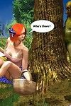 The sexual adventures in the fairy forest