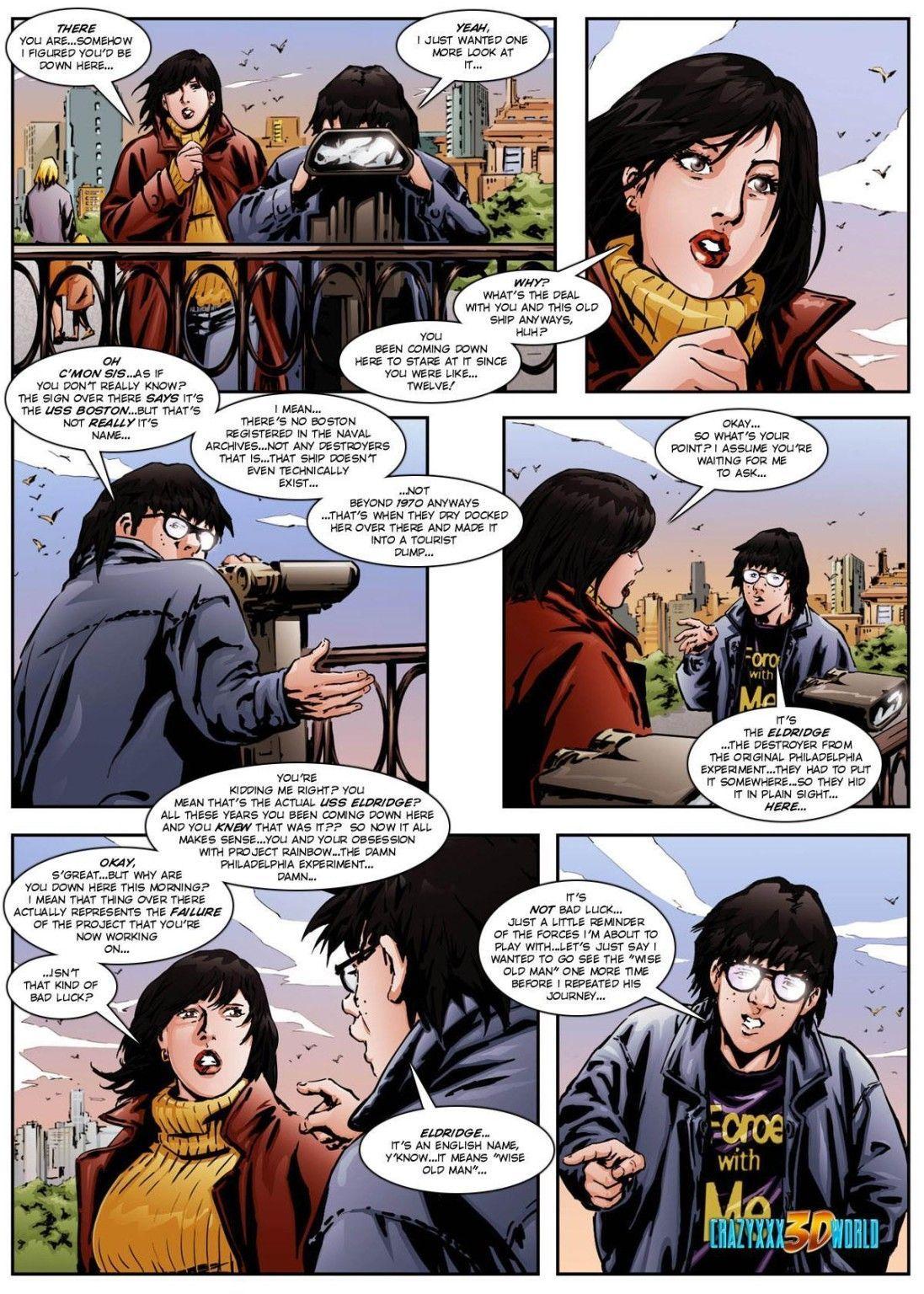 Adult comic english