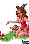 Witch got creampied by leprechaun