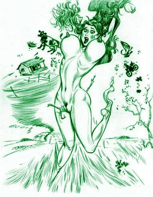 toon dorothy naked