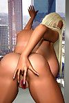 Bigtitted 3d blonde going for a brown cock in steamy interracial