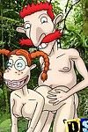 The wild thornberrys throw a fuck fest in jungle