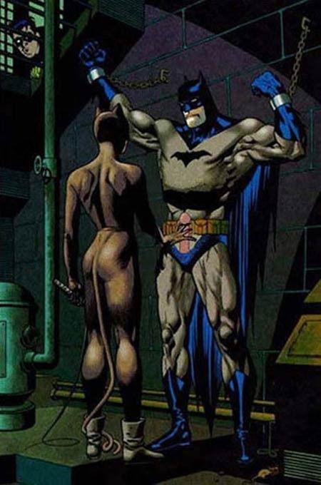 Бетмен в порно