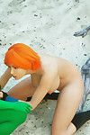 Green monster babe sleeps with redhead breasty bitch