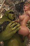 Malicious inexperienced orc destroys little elf\