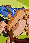 Korra and Aang banging hentai images collection